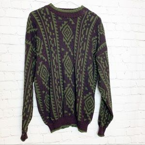 THE MEN'S STORE At Sears Cable Knit Vintage Sweater